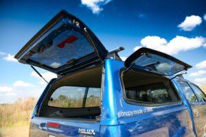 SMM Canopy lift up windows