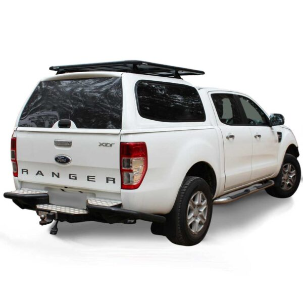 Razorback SMM Steel Canopy fitted to Ford Ranger PX
