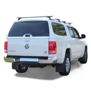 Razorback SMM Steel Canopy fitted to VW Amarok Dual cab