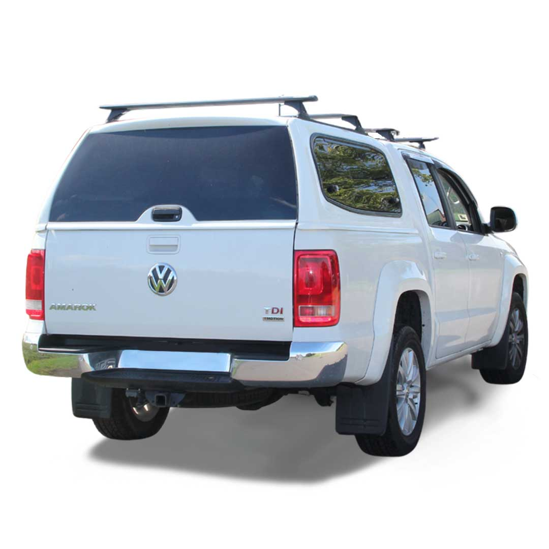Razorback SMM Steel Canopy fitted to VW Amarok Dual cab