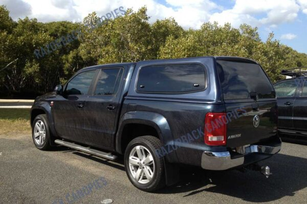 smm canopy fitted to a vw amarok