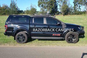 ford ranger px razorback steel canopy