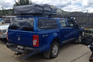 holden colorado smm steel canopy