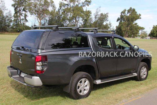 Razorback steel canopy Mitsubishi Triton MR