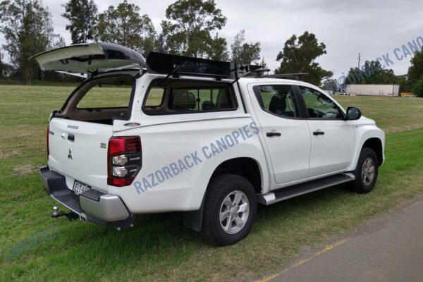 razorback steel canopy MR mitsubishi triton