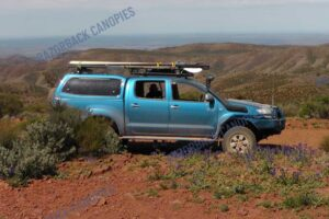 smm steel canopy toyota hilux