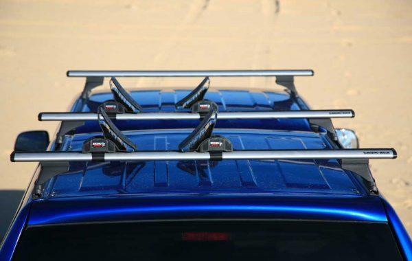 SMM canopy with rhino rack cross bars